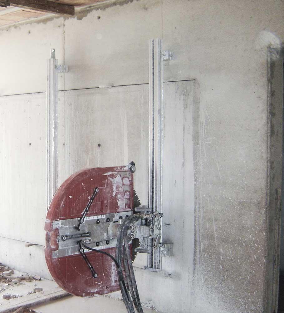 Taglio Solaio Per Scala taglio muri e pavimenti in calcestruzzo - clemente engineering